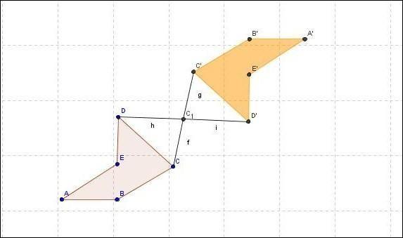Activité sur la symétrie centrale