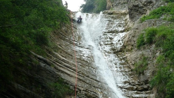 Canyoning in Tignale am Gardasee