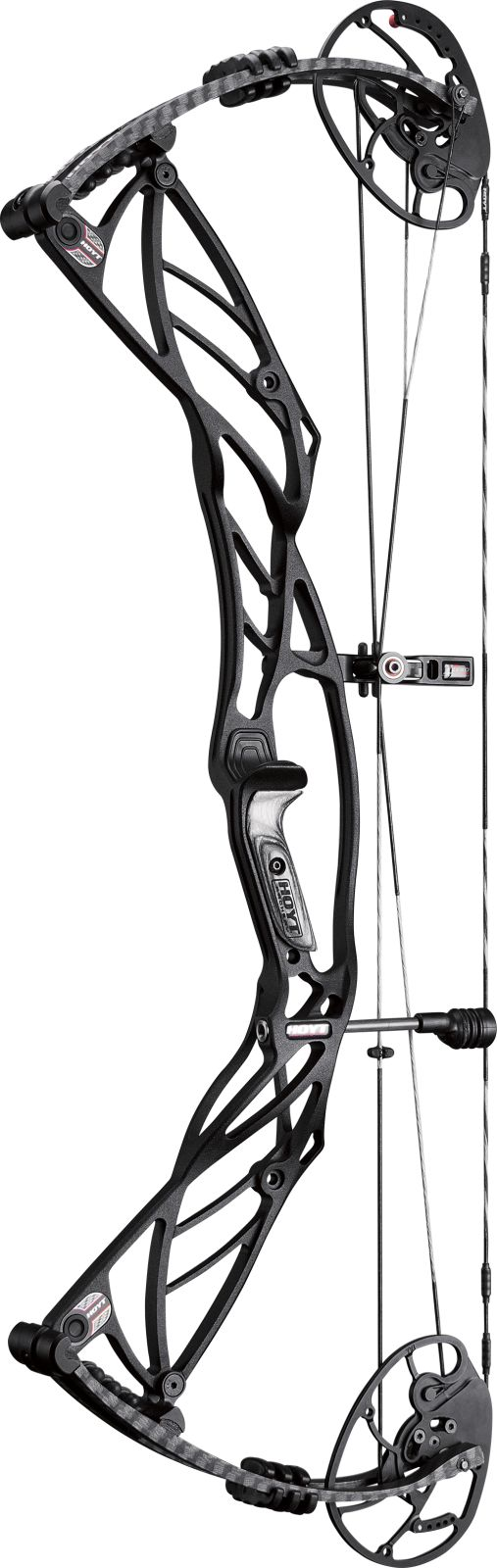 Defying all odds. 2016 Hoyt Defiant 34 (Blacked Out)