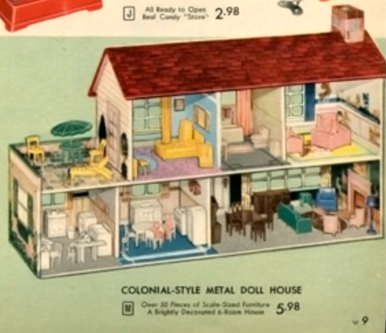 Fallout Shelter Nostalgia >> 44 best images about Vintage Metal Dollhouses on Pinterest | See best ideas about Tins, Metals ...