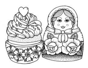 """NOT a babuskha.  A babushka (spelled more correctly) translates to """"grandmother"""" in Russian.  I think what these pinners mean to say is """"matryoshka"""".  Which is also known as a Russian nesting doll."""