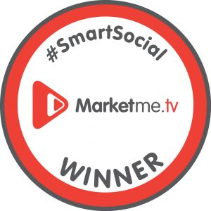Yay, we are @Marketme TV #SmartSocial winners #SocialMedia rocks!