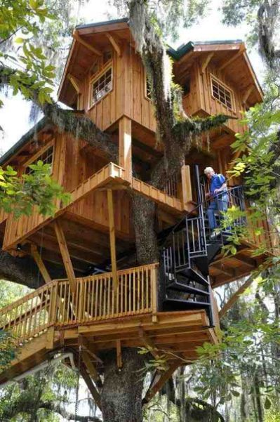 971 best treehouses images on pinterest tree houses treehouses