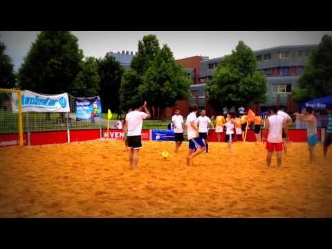 funny football - Funny Event - Uni Bayreuth - Beach Soccer