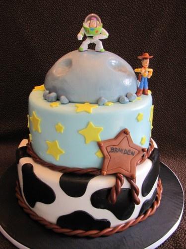 Toy Story 3: Boys Cakes, Toys Stories Cakes, Toys Stories 3, Cakes Ideas, Birthday Parties, Kiddo Cakes, Cakes Cakes, Toys Stories Birthday, Birthday Cakes
