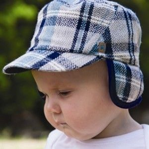 Baby Boys Frost Mao Cap – The perfect baby boys winter hat the provides protection from all the elements. This mao cap has a wool blend outer and super warm coral fleece lining. It has a peak plus a fl