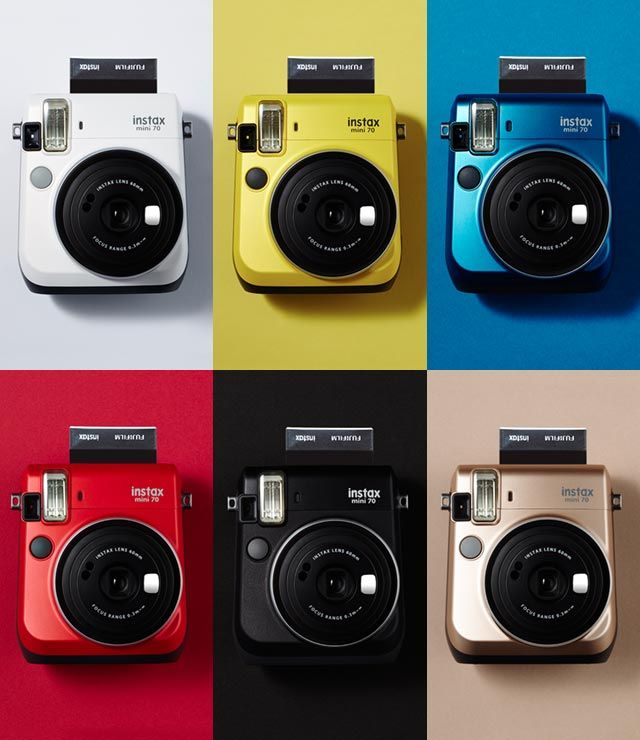 "Fujifilm ""instax mini 70"" promotion site. With the instax mini 70, you can turn an ordinary day into a special day filled with smiling faces. For fun times, carry the instax mini 70 with you whenever and wherever you go."