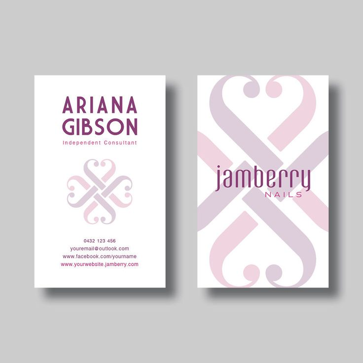 Jamberry Nails Business Card (Art Deco) - Digital Design by BellGraphicDesigns on Etsy https://www.etsy.com/au/listing/400533267/jamberry-nails-business-card-art-deco