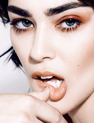 The Rex Agency Makeup by Anna Branson  Orange Eye Shadow Monochromatic Makeup