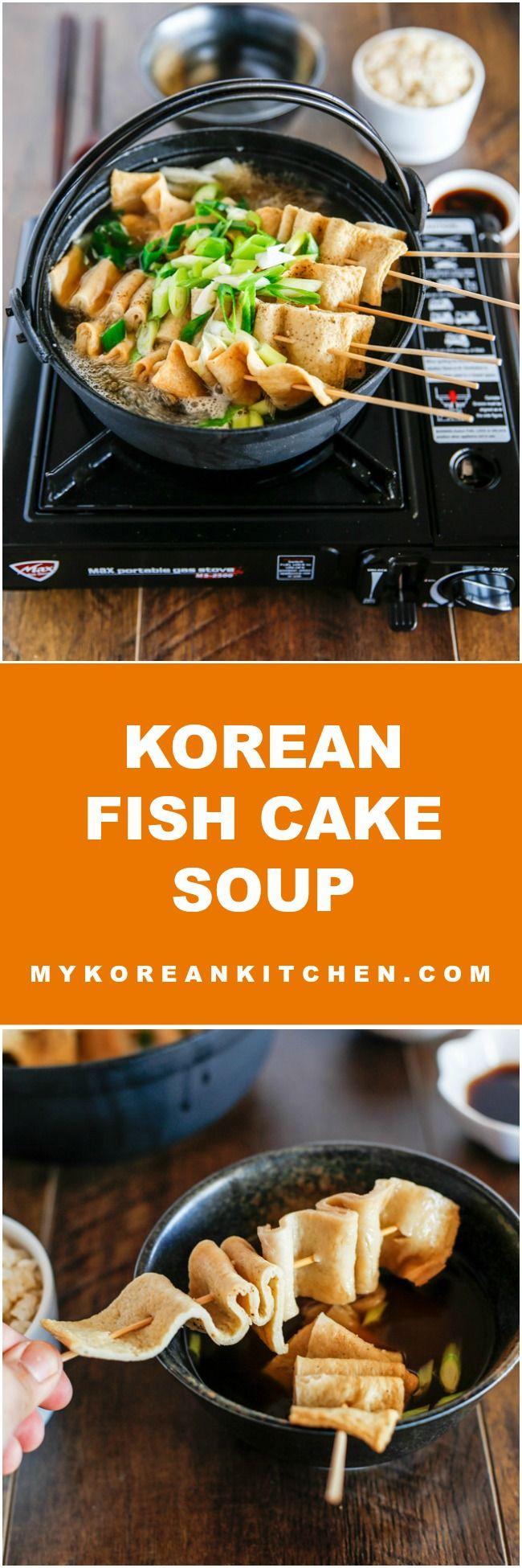 Refreshing, tasty and comforting Korean fish cake soup | MyKoreanKitchen.com