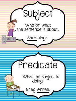 ... Predicate Worksheets, Simple Subject And Predicate and Notice And Note