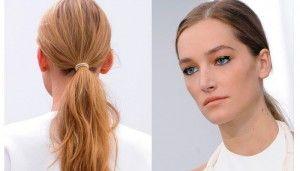 Perfetta per capelli mossi naturali l'acconciatura semplice di Derel Lam NFW-S/S 2014   leggi tutto sul Blog Xtro Hair Care    http://xtrohaircare.com/wp/blog/2014/06/30/xtro-press-coda-il-trand-che-vince/