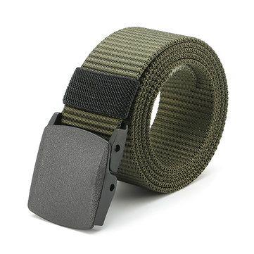 120CM Unisex Men Women Nylon Camouflage Belt Military Tactical Durable Buckle Pants Strip