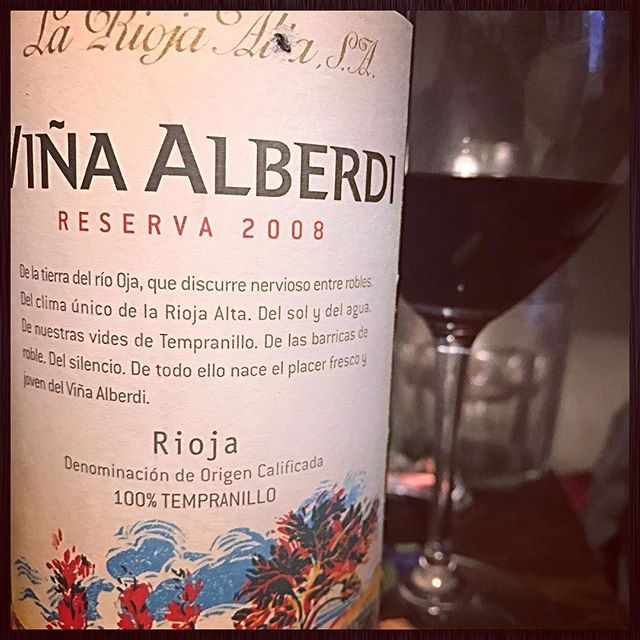 Founded In 1890 La Rioja Alta Practicing Organic This 100 Tempranillo Vina Alberti Is A Classic Rioja Wine Winelover Winelovers Winetasting Winery Wi Wein