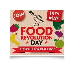 Jamie Oliver's Food Revolution Day - I'm in, my kid's school is in in fact the canteen menu's been revolutionised! @Food Revolution