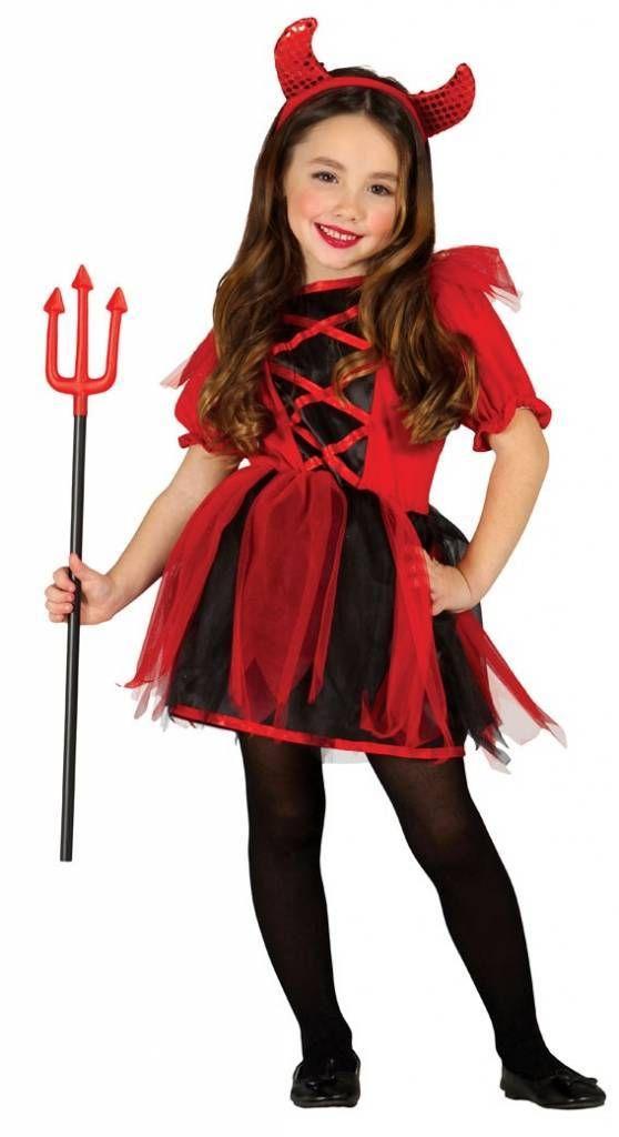 Kinderen Halloween.Halloween Kostuum Voor Kinderen Kleine Duivel Kostuum Voor