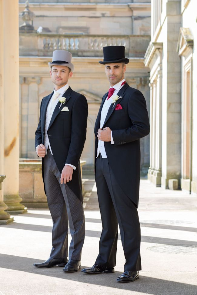 Top Hat and Tails; Styling the groom with wedding attire from Slaters