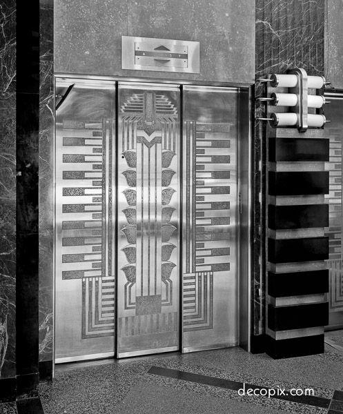 Art Deco Metalwork Gallery - Decopix - The Art Deco Architecture Site