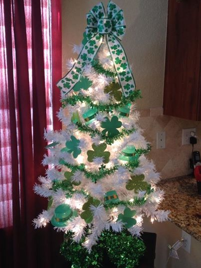 83 Best St Patrick S Day Trees Images On Pinterest