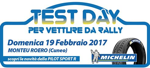 """Il Test Day dello Sport Rally Team ospita il """"Bibendum"""" Michelin che dispensa regali"""
