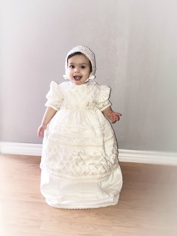 La hermosa Arabella #ropon para niña G001 #ropon #christneing #christneingdress #roponnina