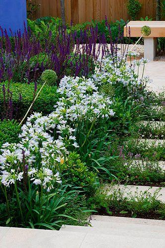 Slope landscaping idea