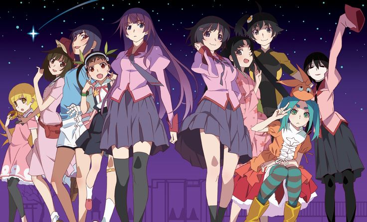 You can now watch monogatari in mostly chronological