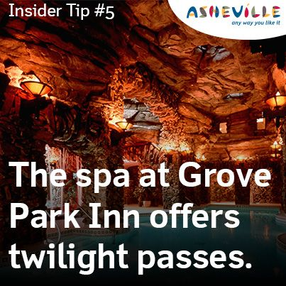 Asheville Travel Blog: Spa Savings at Grove Park Inn