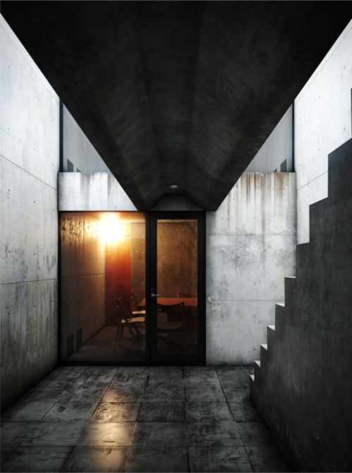 Row House, Sumiyoshi | Tadao Ando