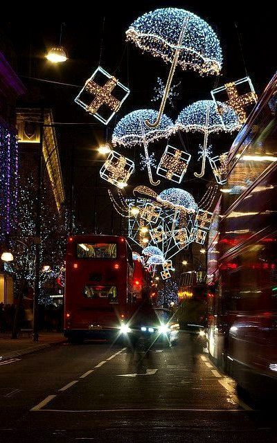 Christmas in London, England