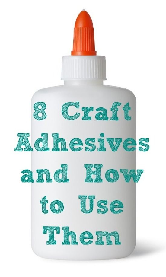 8 popular craft adhesives and how to use them