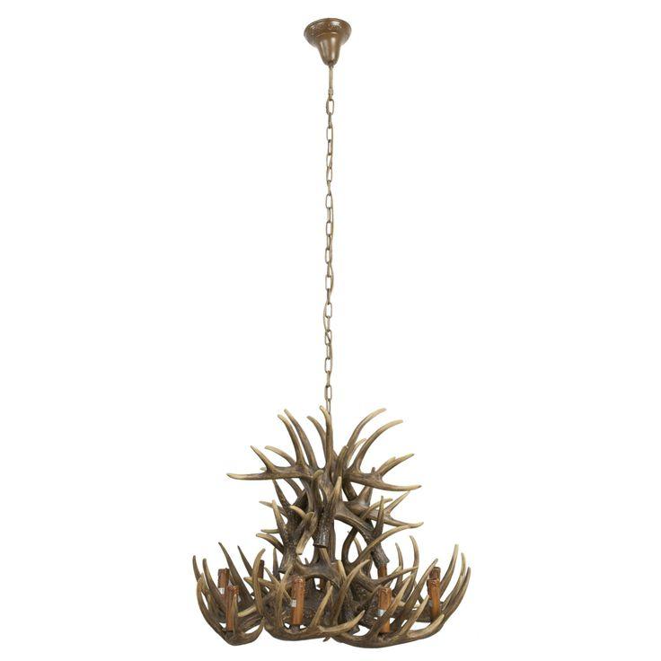 Clayre & Eef webshop voor winkeliers::Verlichting::Lampen::Hanglampen::5LMP038 Hanglamp
