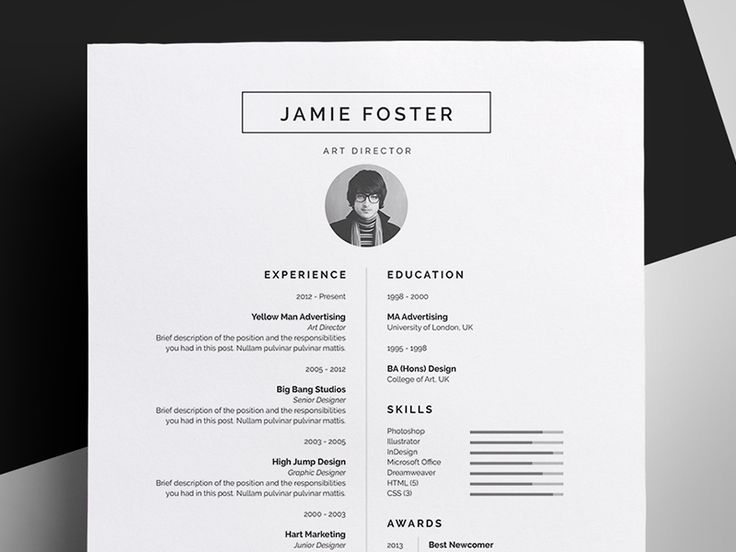 23 best Résumé Paper First Impression images on Pinterest - post a resume