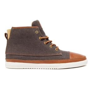Chambers Sneakers Canv. Chestnut, 83€, now featured on Fab.