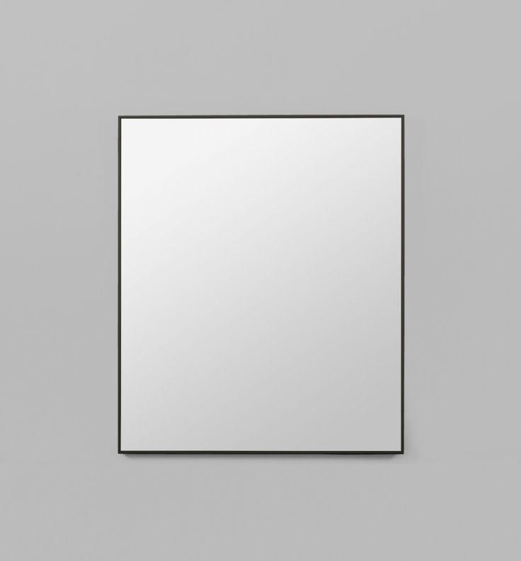 Retrojan- Trade Pricing: elyse@tbstylelab.com.au Brucc101  Flynn Rectangle Mirror - Black - Middle of Nowhere