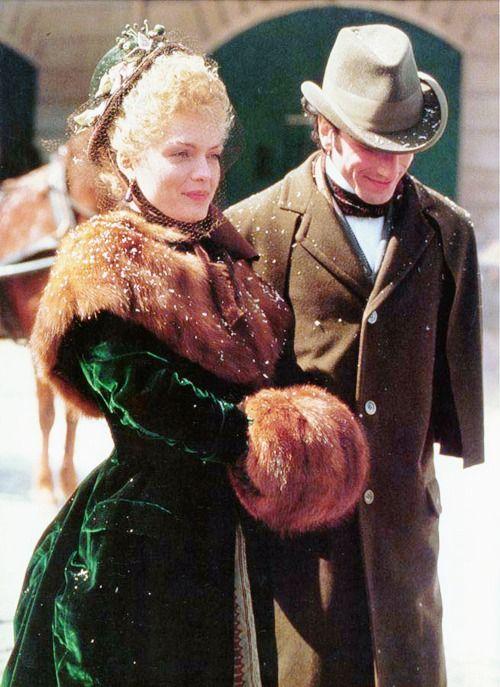 Ellen in winter furs in The Age of Innocence