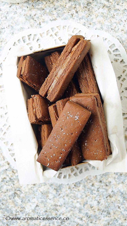 Eggless Bourbon Biscuit Cake Recipe