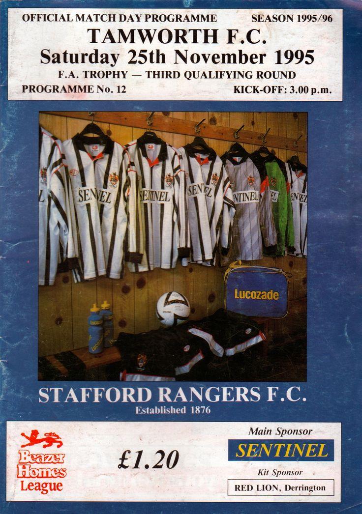 Marston Road (Stafford Rangers FC) in Stafford, Staffordshire