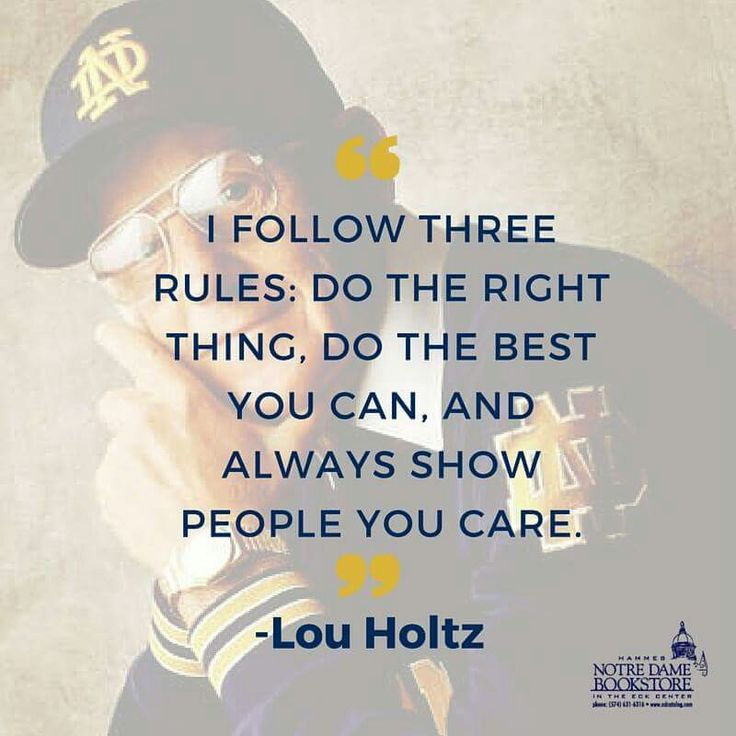 an analysis of the lou holtz self motivation video Buy a cheap copy of winning every day book by lou holtz and his motivational video and prove it authenticif you undertake a cost-benefit analysis on.