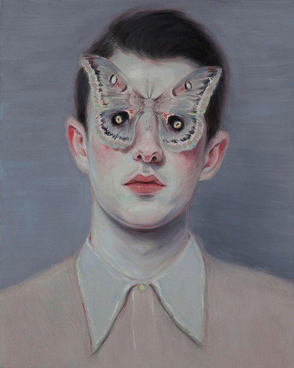 Portraits by Toronto-based artist Kris Knight. More images below. Kris Knight's Website