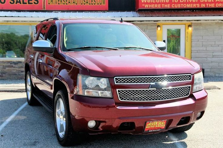 2008 Chevrolet Tahoe 4x4 LTZ 4dr SUV **FOR SALE** By Driver Seat Auto Sales - 566 St Peters Howell Rd. St. Charles, MO