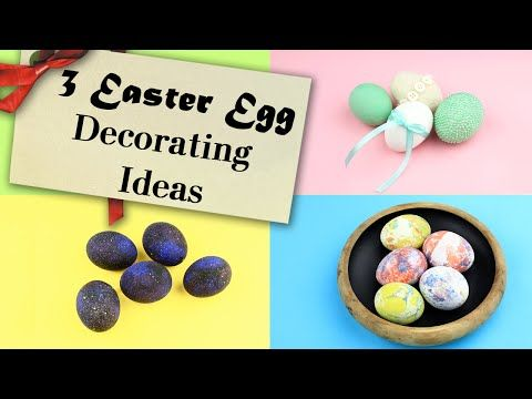 In this tutorial we'll show you 3 original design ideas of  eggs decorating. This cool Easter egg designs will create a spring holiday atmosphere and become a perfect holiday table decoration! #Easteregg #easterdecorideas #fooddecor