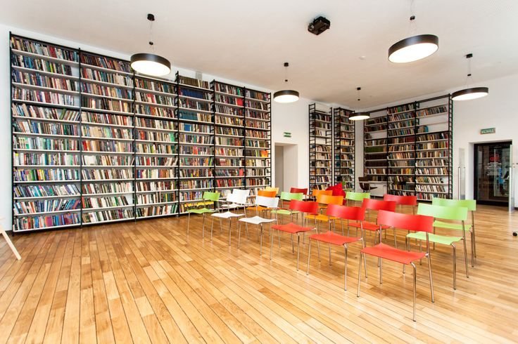 Media Library with SENAB Russia. Lammhults. Campus. Chairs.