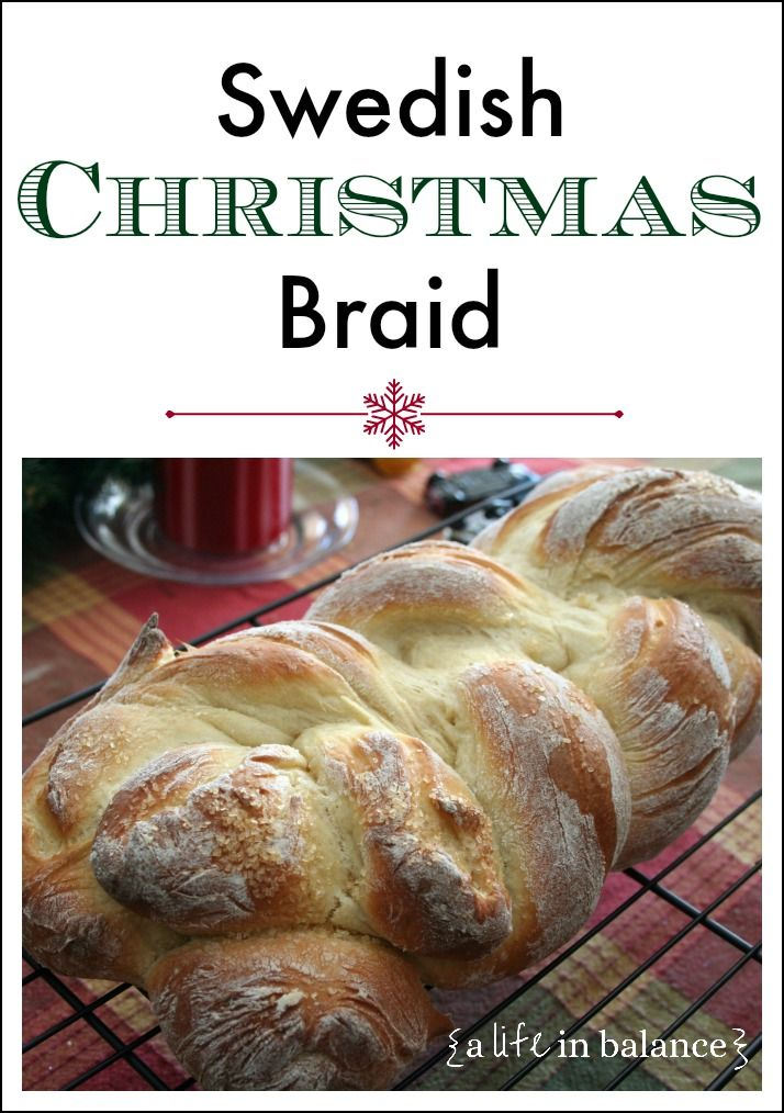 Swedish Christmas Braid, perfect for Christmas morning breakfast! It also makes great French toast.