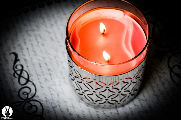 Although most candles contain animal products, vegan candles are easy to find