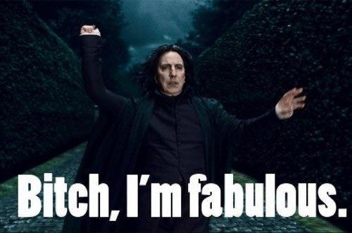 Snape is fabulous