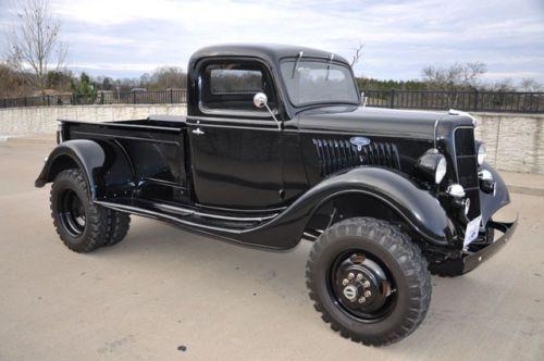 1935 Ford 4x4 dual rear axle custom built pickup