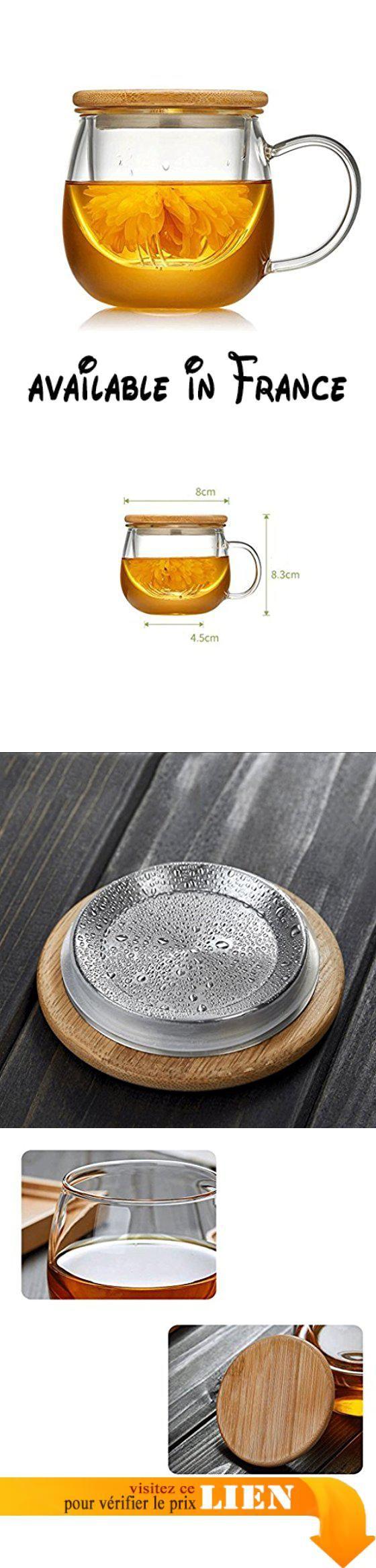 B077QH6RBQ : ZHAOJING Tasse en verre de tasse de bureau tasse de tasse de tasse de tasse de tasse avec les hommes de couverture et le filtre à bande épaissi de dames ( taille : 300ml ). Coupe bouche épaissie arrondie et lisse pour vous apporter une expérience de consommation confortable; couvercle utilisant un procédé de tréfilage métallique pas facile à gratter. Fond épais de la coupe de la coupe moulage en une seule pièce pour augmenter la stabilité du