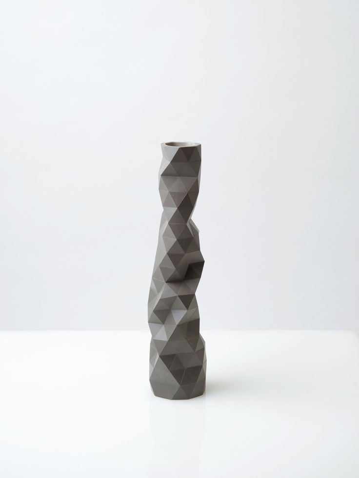 Faceture Vase by Phil Cuttance