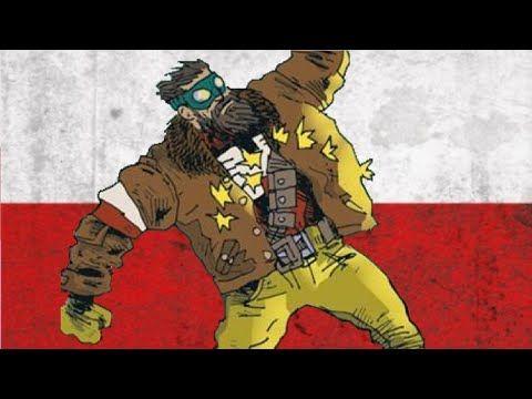 Jakub Kijuc - komiks, ilustracja: Polscy Superbohaterowie #1 - Jan Hardy